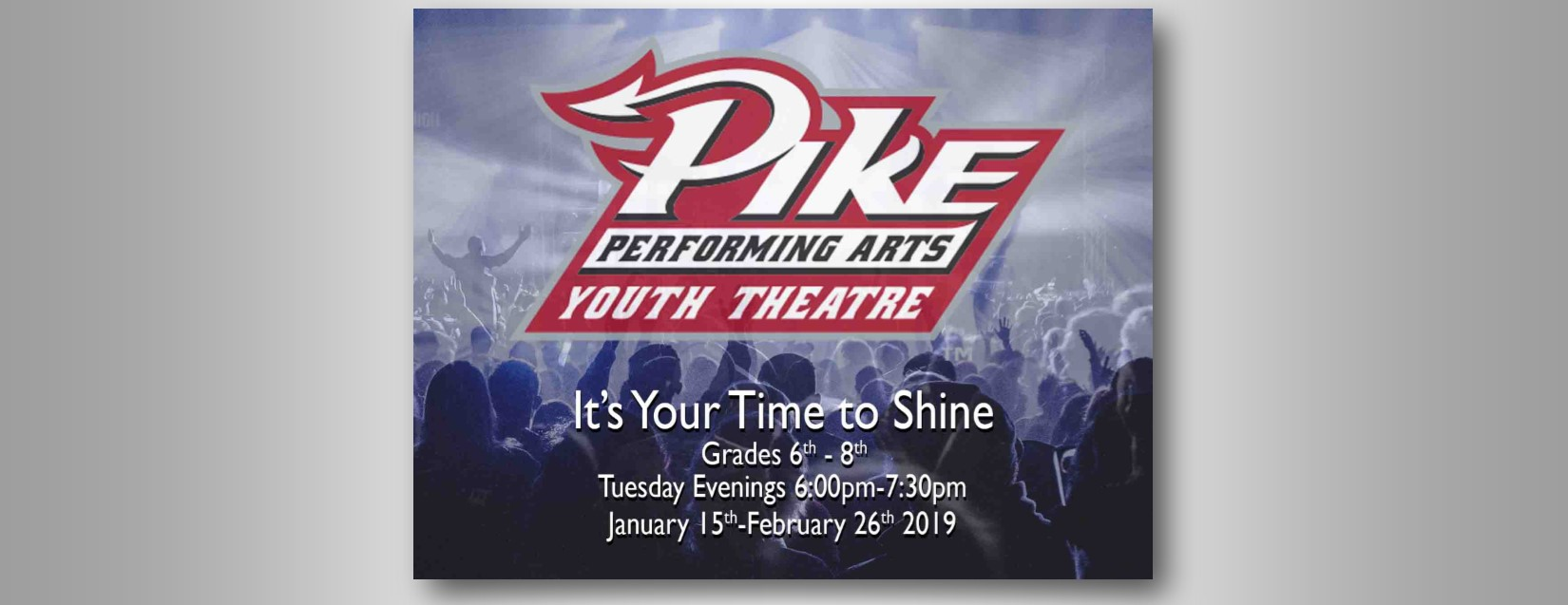 Pike Youth Theatre 2018