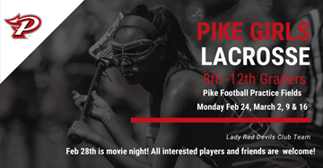 Pike Girls Lacrosse