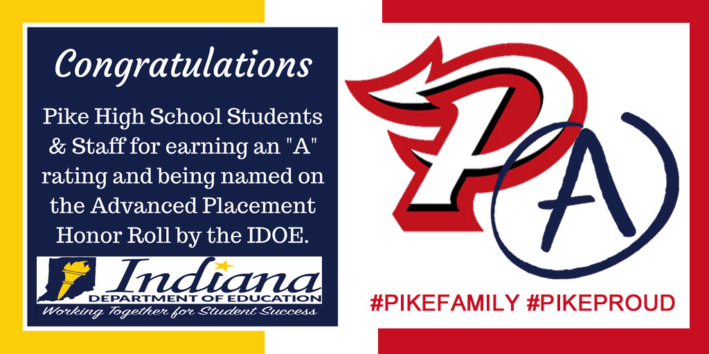 PIKE CONGRATS FROM IDOE