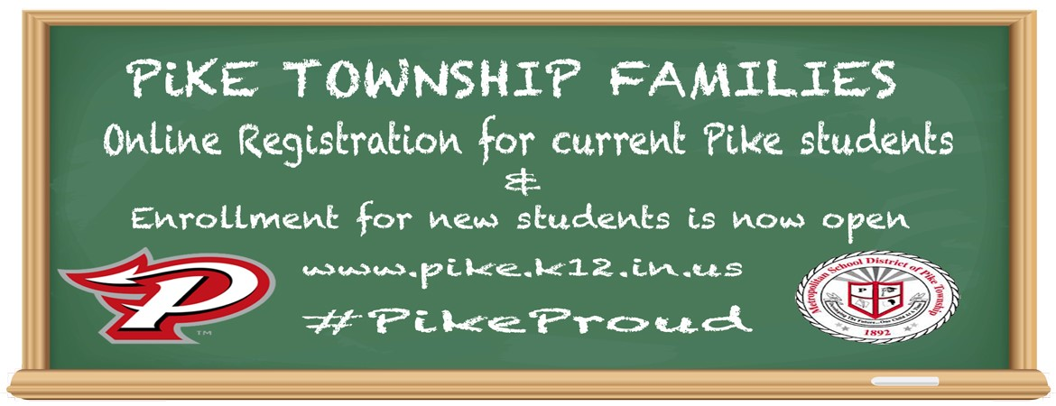 Online Registration for current Pike students and Enrollment for new students is now open
