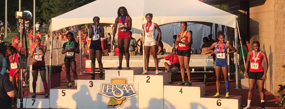 STATE CHAMPION LYNNA IRBY