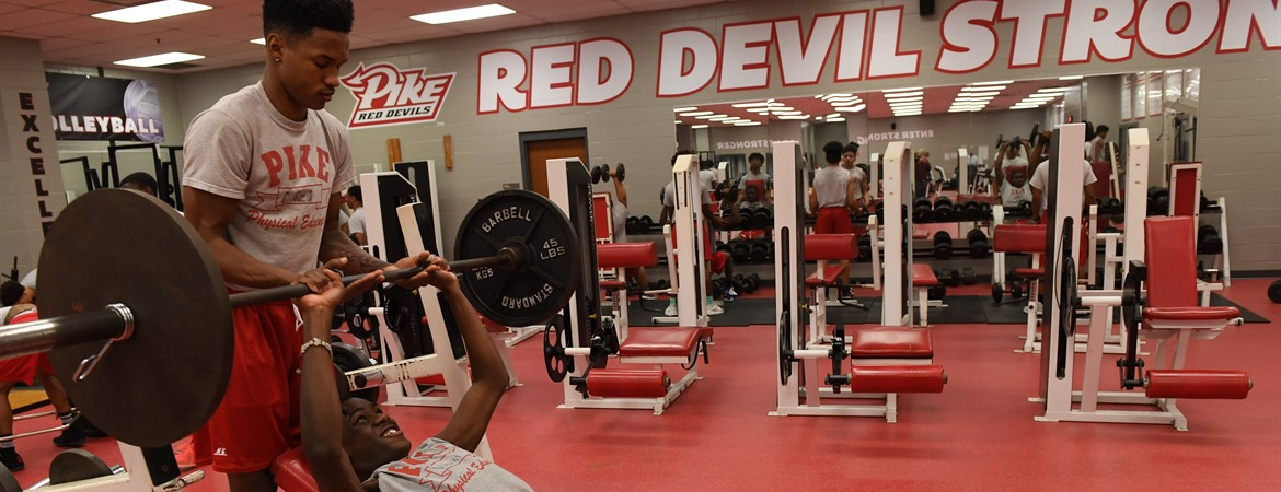 Red Devils lifting.